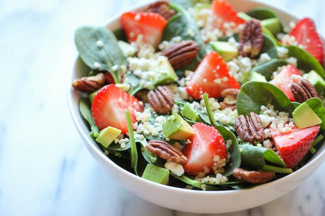 Strawberry Quinoa Salad Recipe