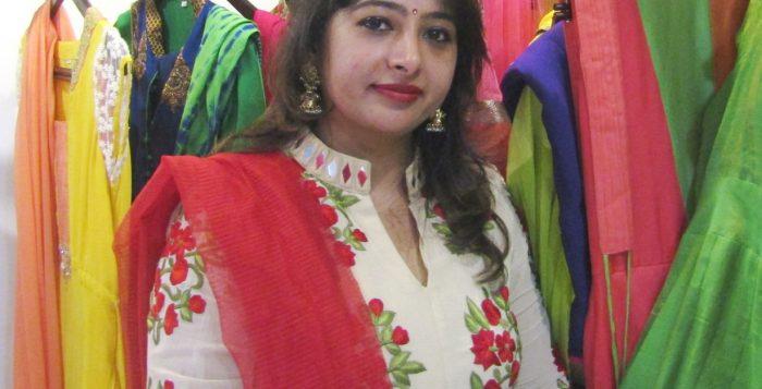 Rekha Kishore Sadarangani, the Owner of Rewaaz Couture