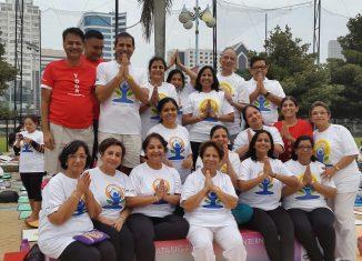 International Day of Yoga in Jakarta